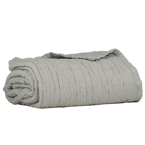 Camomile Cot Blanket Light Grey