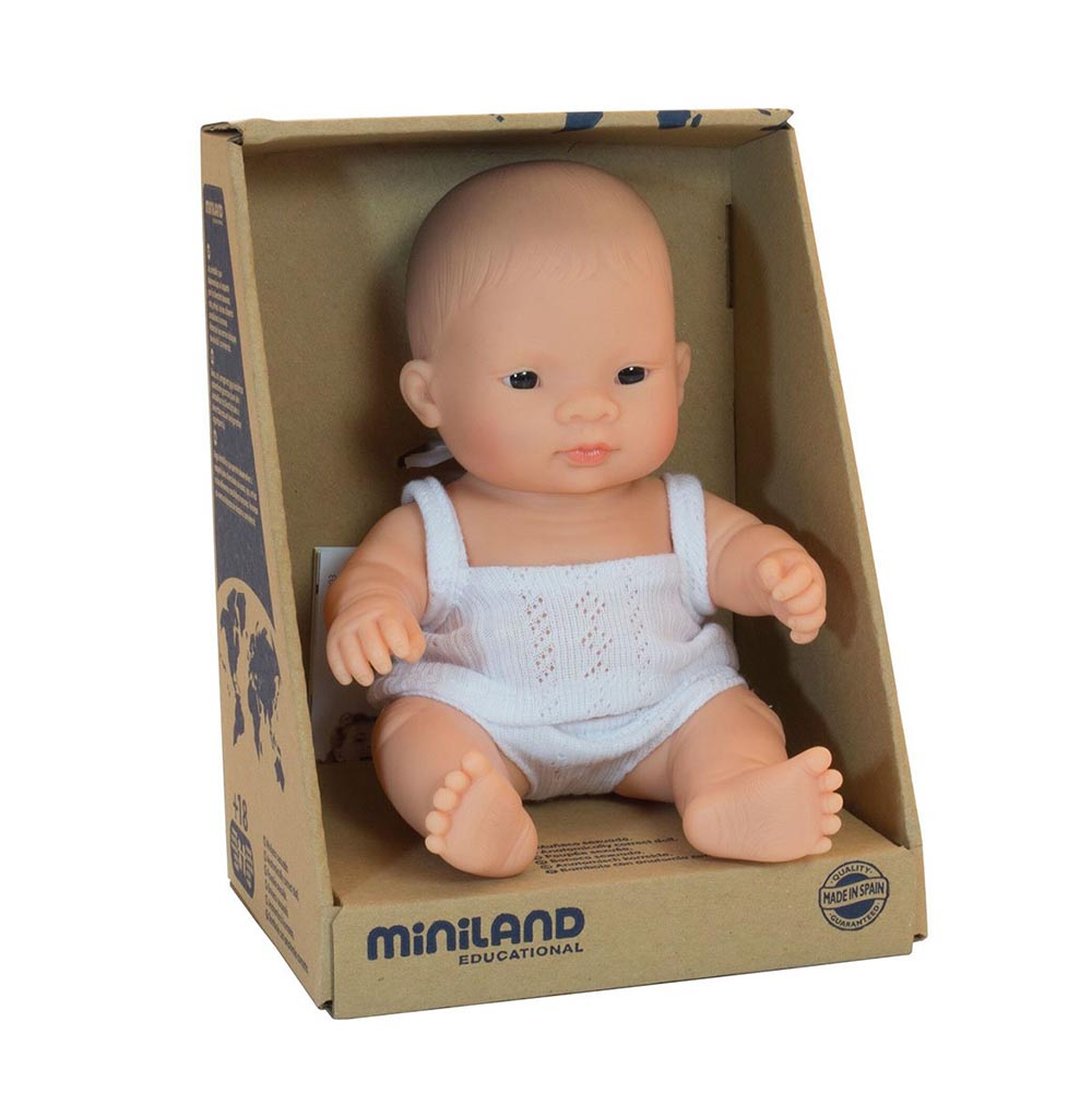 Miniland Baby Asian Boy 21cm