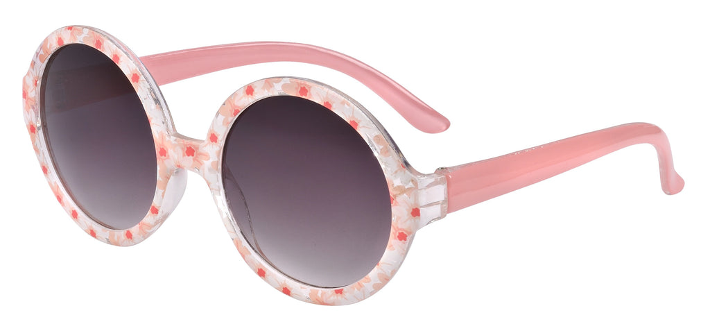 Frankie Ray Cherry Blossom Round Sun Glasses