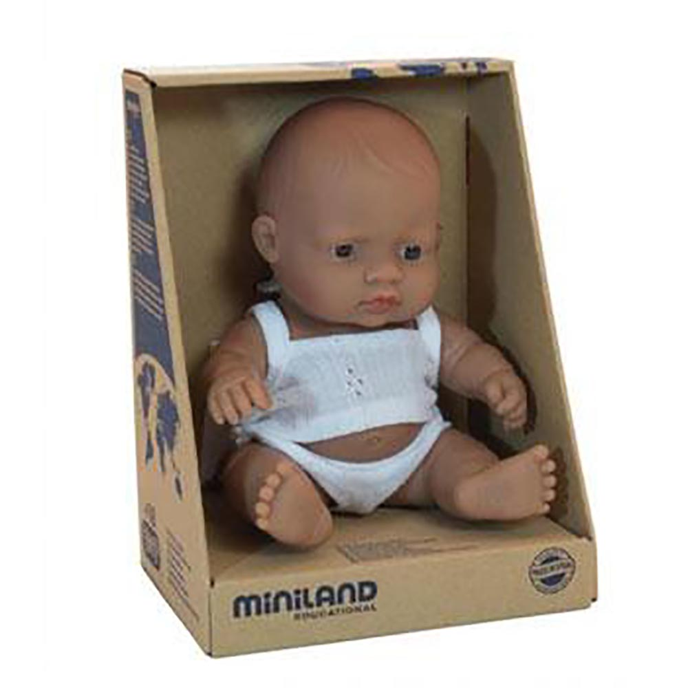 Miniland Baby Hispanic Girl 21cm