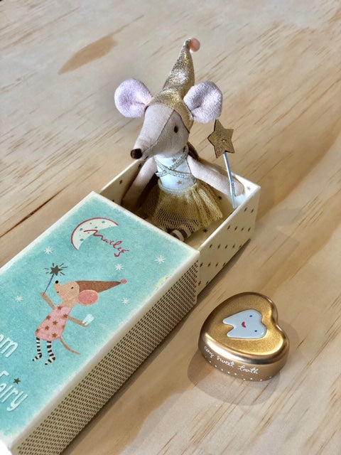 Maileg Dream & Tooth Fairy Mouse in a Box (Girl)