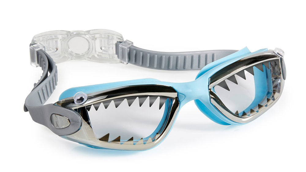Bling2o Swim Goggles Jawsome Blue Tip Shark