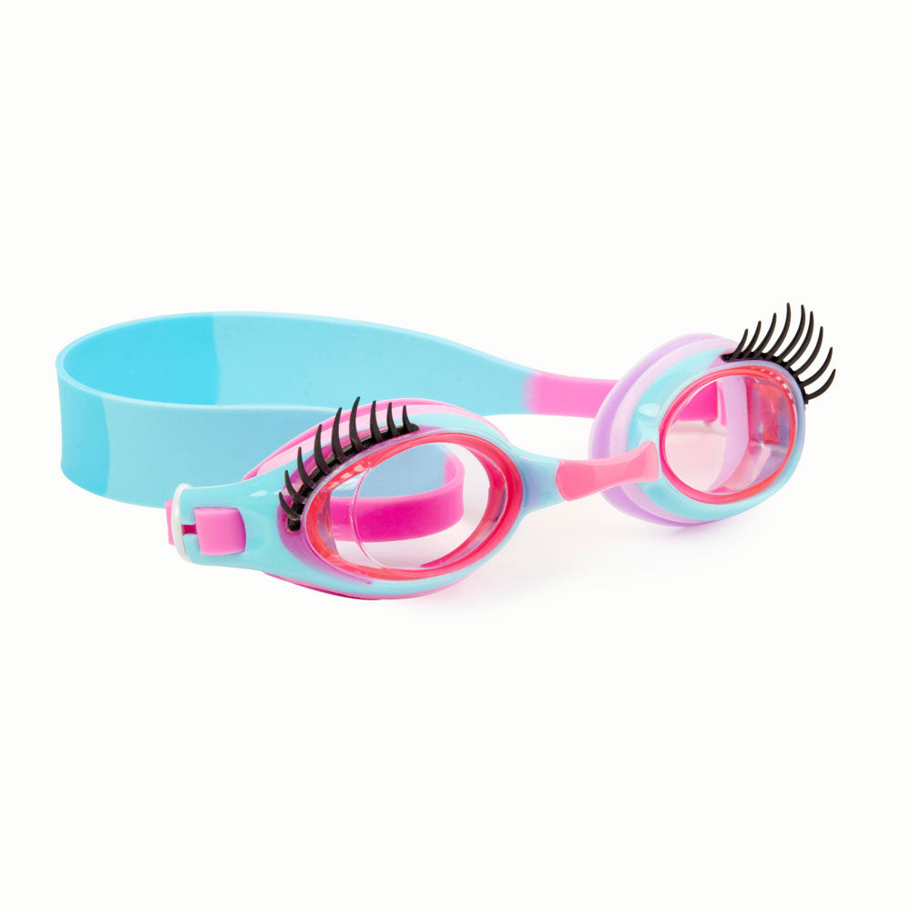 Bling2o Swim Goggles Glam Lash Peril-Wink-Le Blue