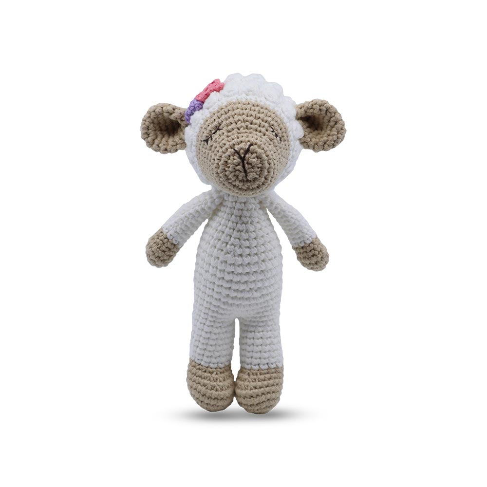 Snuggle Buddies Shaker Mini Toys Lamb