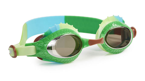 Bling2o Swim Goggles Larry the Lizard Iguana Green