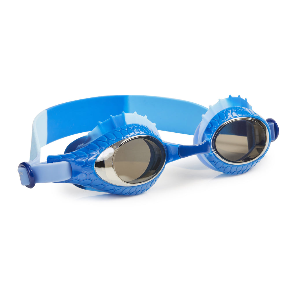 Bling2o Swim Goggles Larry the Lizard Bearded Dragon Blue