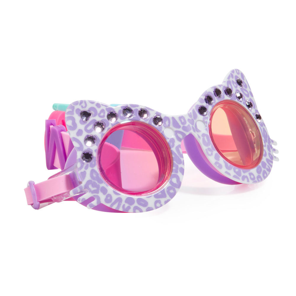 Bling2o Swim Goggles Cats Meow Mittens Purple