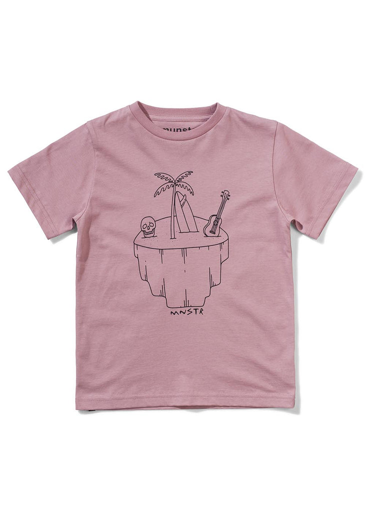 Munster Palmshade Tee Dusty Pink