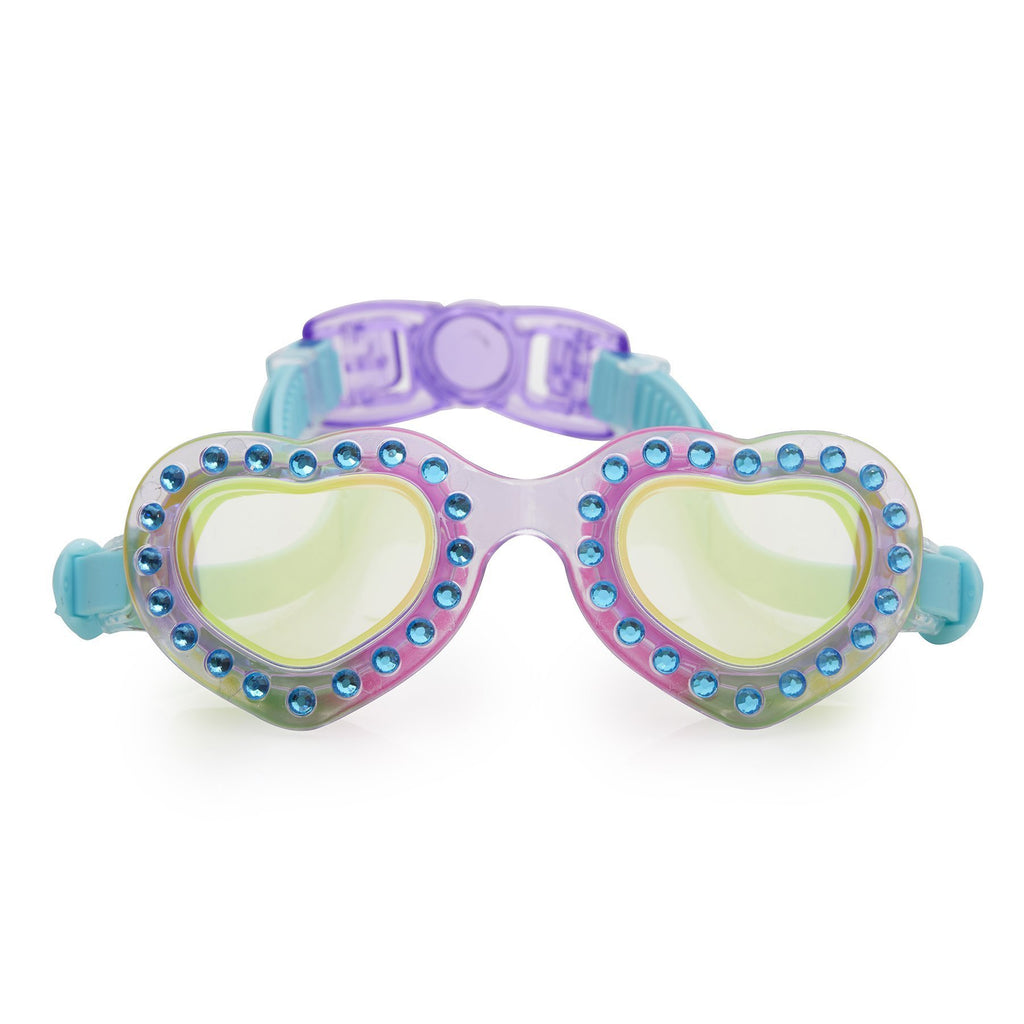 Bling2o Swim Goggles Heart Throb Love You Blue