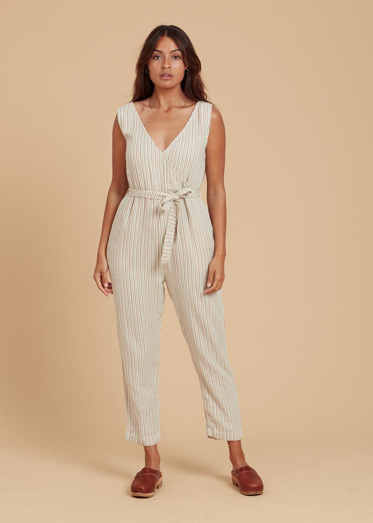 Wares by Olli Ella Toulouse Jumpsuit Harvest Stripe