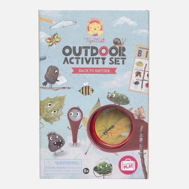 Tiger Tribe Outdoor Activity Set Nature