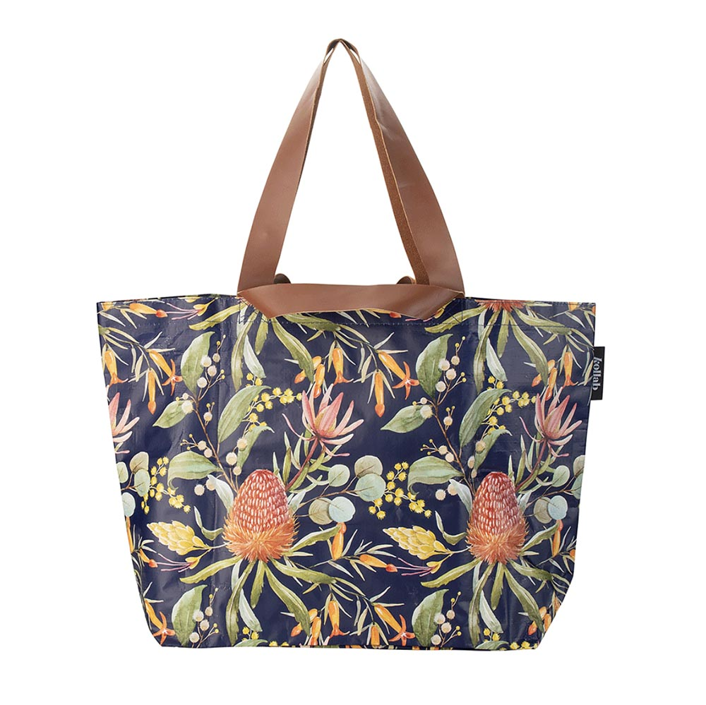 Kollab Shopper Tote Native Floral