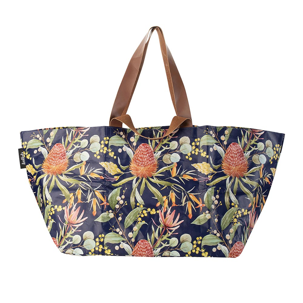 Kollab Beach Bag Native Floral
