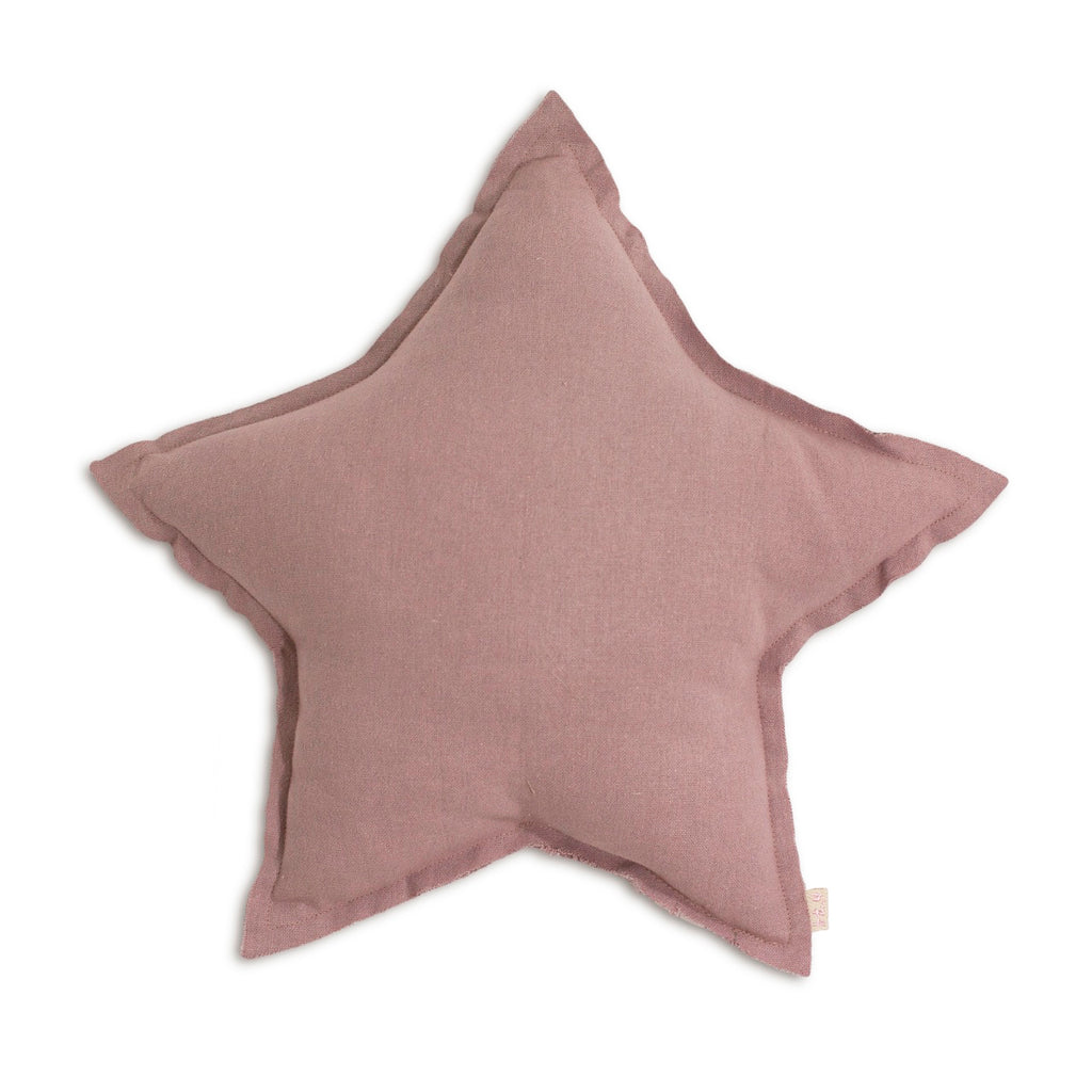 Numero 74 Star Cushion Cotton Dusty Pink Small
