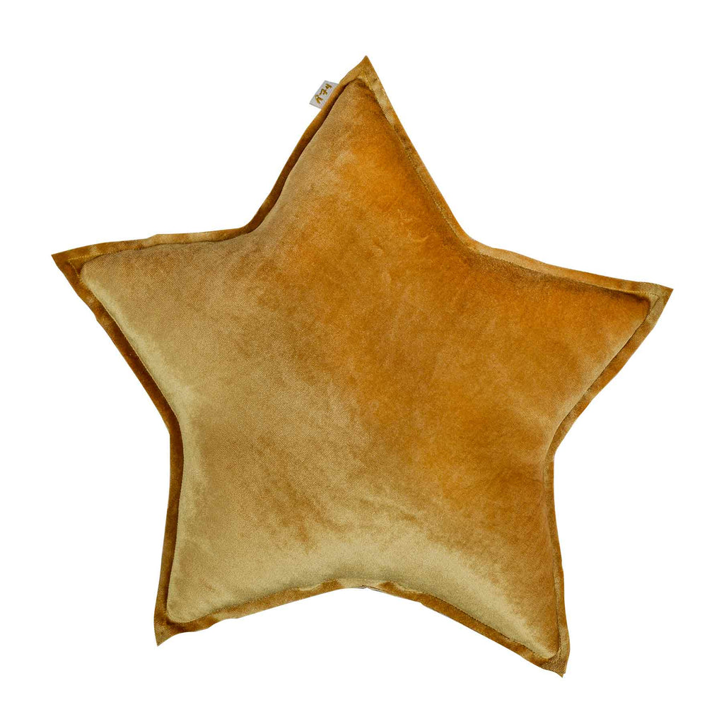 Numero 74 Star Cushion Velvet Gold Medium