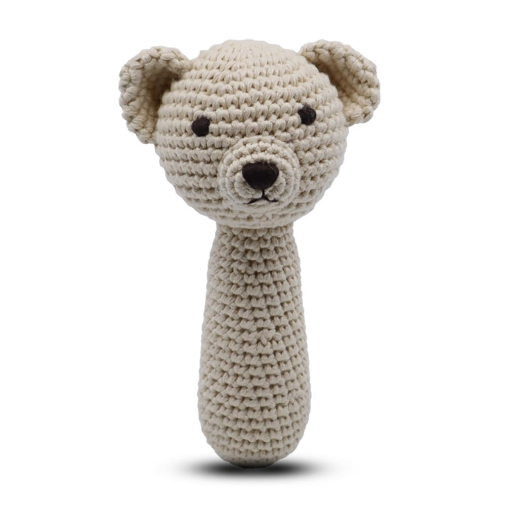 Snuggle Buddies Shaker Rattle Teddy