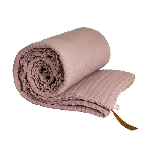 Numero 74 Winter Blanket Small Dusty Pink