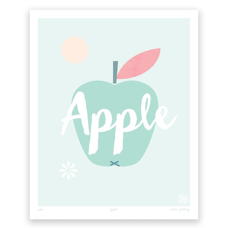 Printspace Apple Art Print