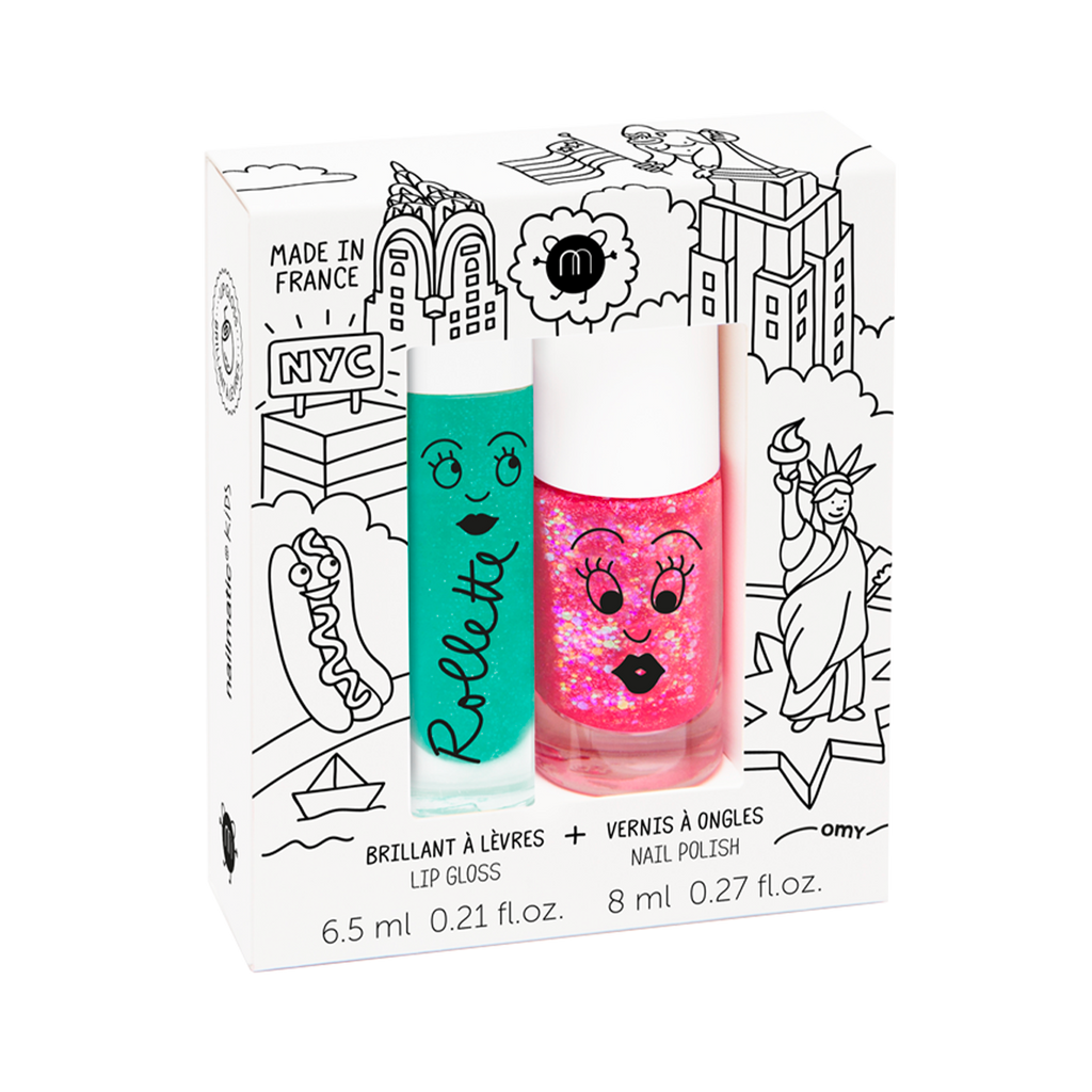 Nailmatic Duo Gloss & Polish Pack New York