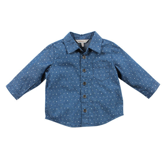 Kalahari Denim Printed Shirt