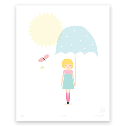 Printspace Umbrella Art Print