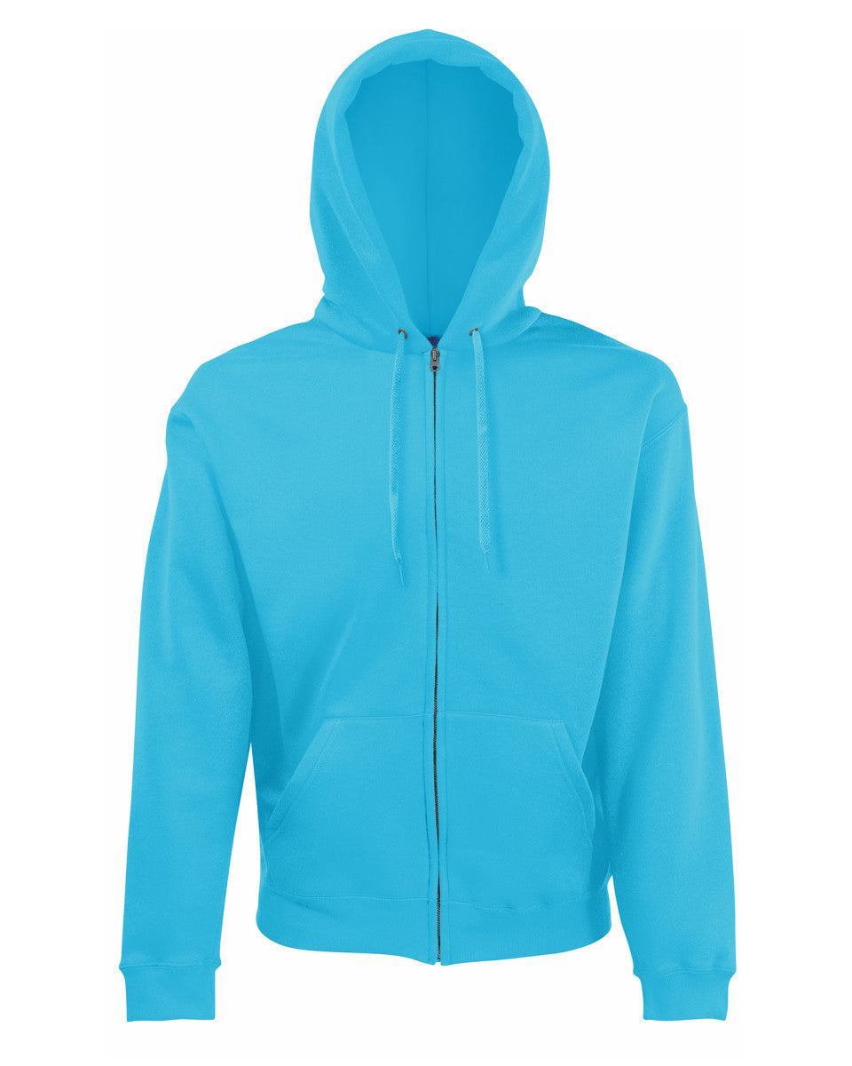 Destiny Coach - Azure Blue Zip up Hoodie (Male fit/baggy fit)