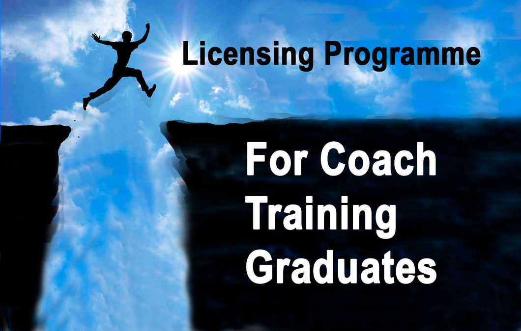 Licensing Programme for Coach Training Graduates, 22-23 Nov - LPFT19