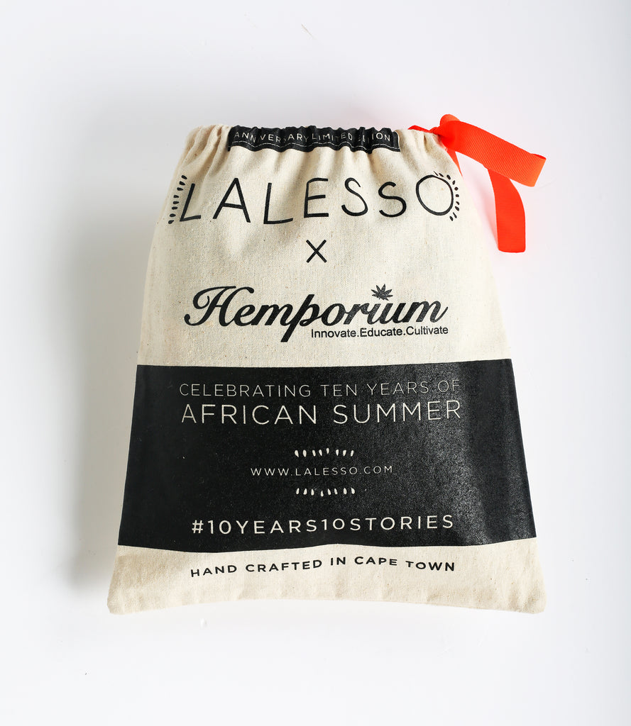 Lalesso x Hemporium  Hemp Beach Blanket