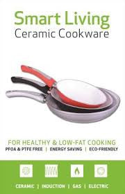 Smart Living Ceramic 2-Piece Pan Set