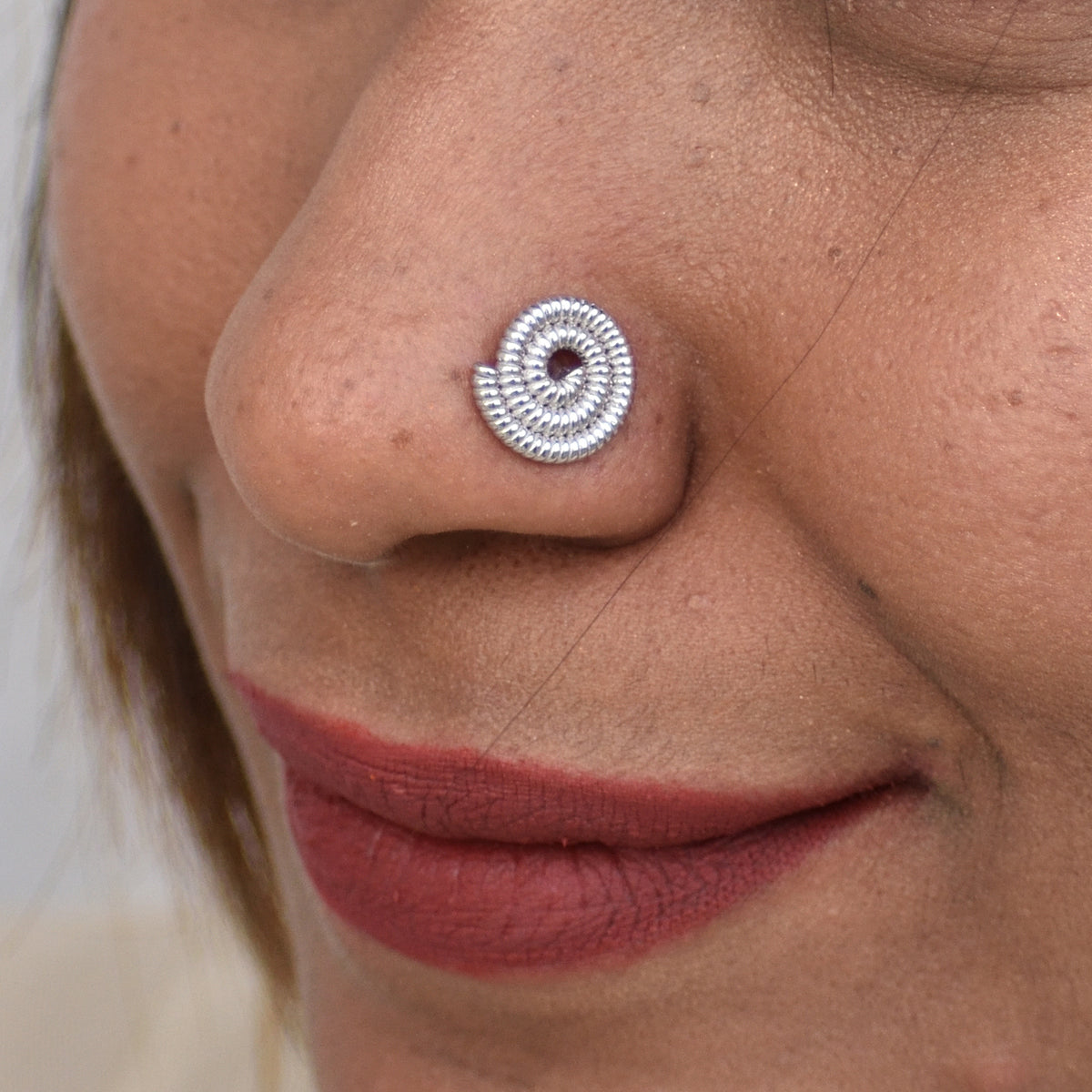 Simply Spiral - Nose Pin - Aliame