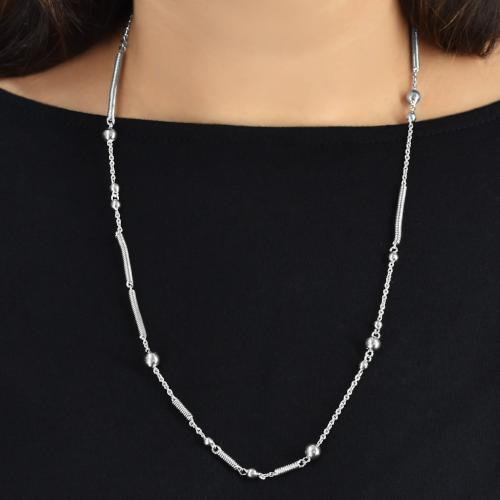 Straightly Twisted Necklace - Aliame