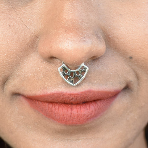 Chess Board - Septum Ring - Aliame