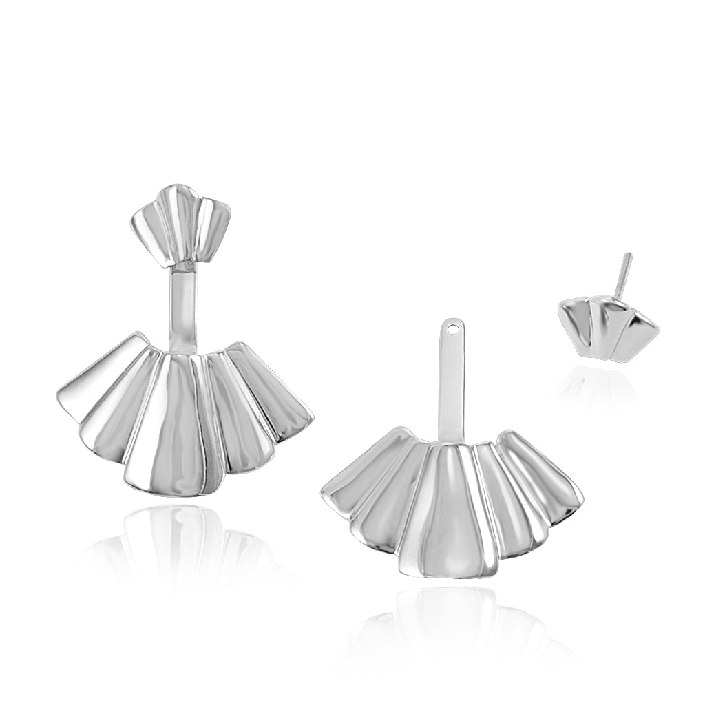 Fanning Fans - Stud Earrings - Aliame