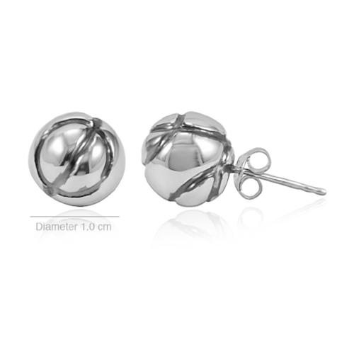 Scintillating Spheres - Stud Earrings - Aliame