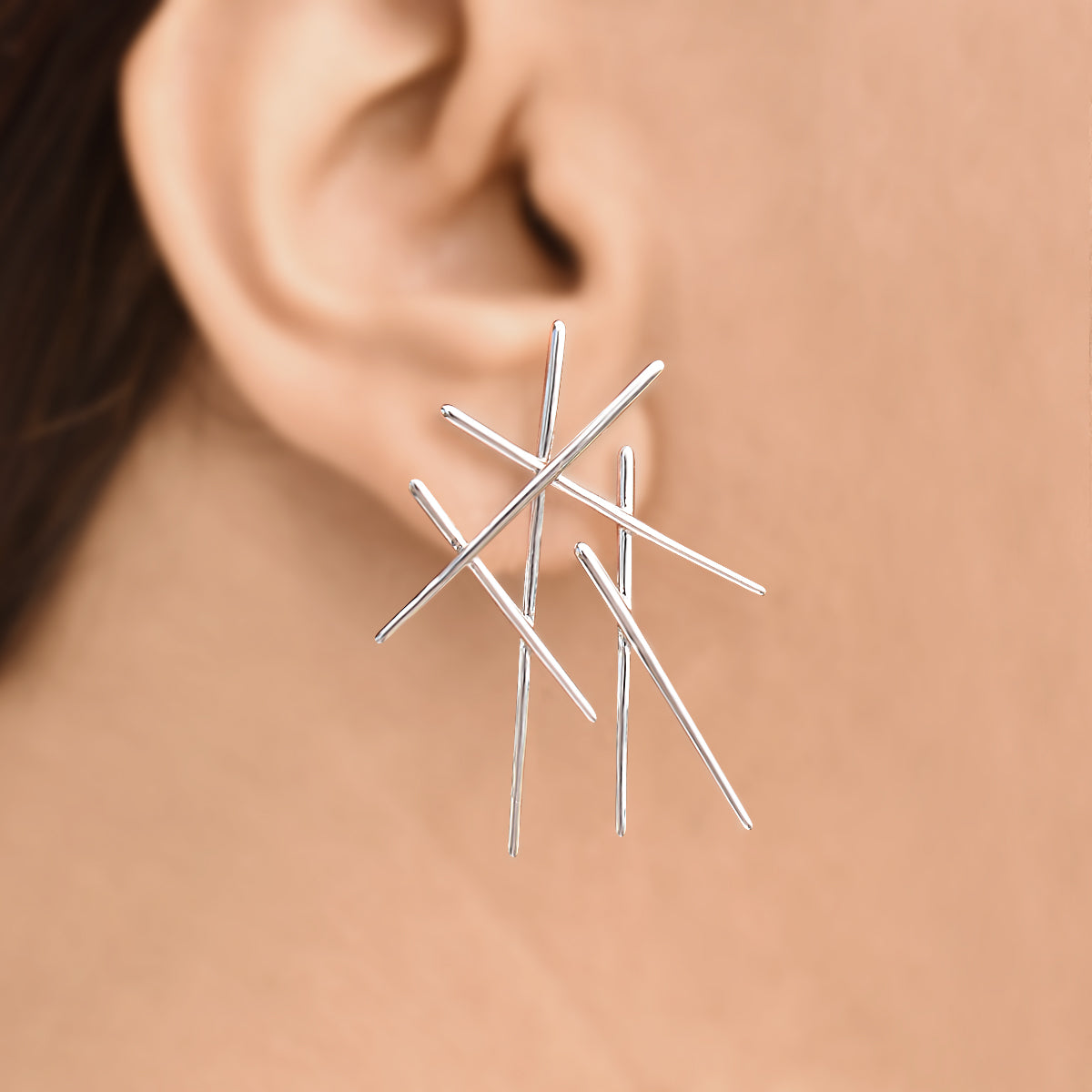 Chic Chopsticks - Drop earrings - Aliame