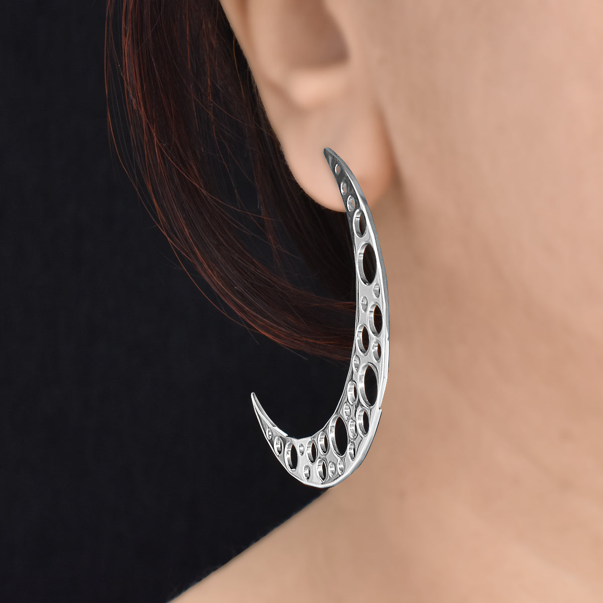 Moon Medley - Hoop Earrings - Aliame