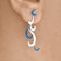 Wavering Waves - Drop Earrings