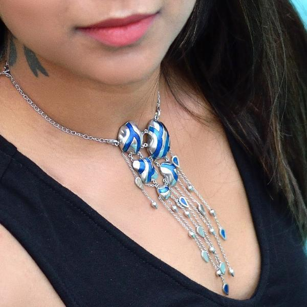 Riveting River Necklace - Aliame