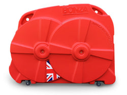 Bonza Bike Box II - Red - Daily Hire - FREE LOCAL DELIVERY