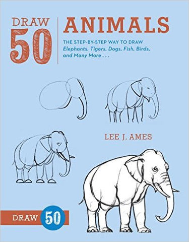 DRAW 50 ANIMALS:LEE J. AMES