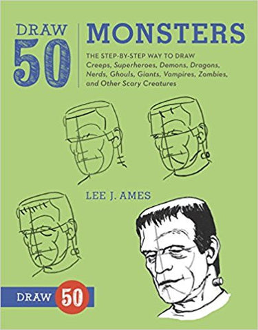 DRAW 50 MONSTERS:LEE J. AMES