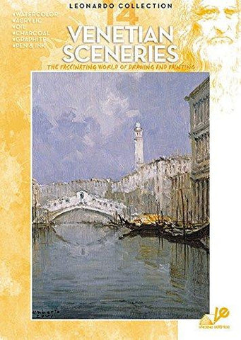 Leonardo Art Instructional Books 14 Venetian Sceneries
