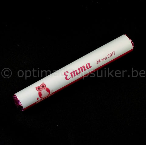 Mentos thema uil fuchsia - OptimaDoopsuiker