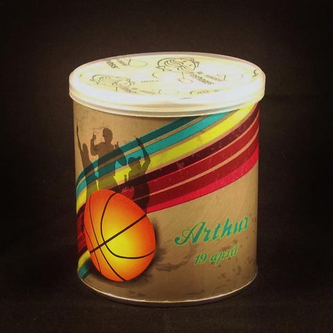 Pringles thema basketter - Optima Doopsuiker