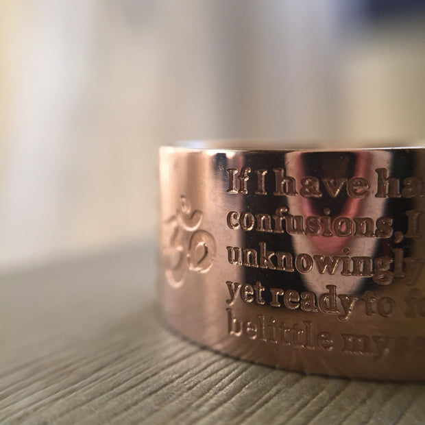 Forgiveness Ring - Rose Gold