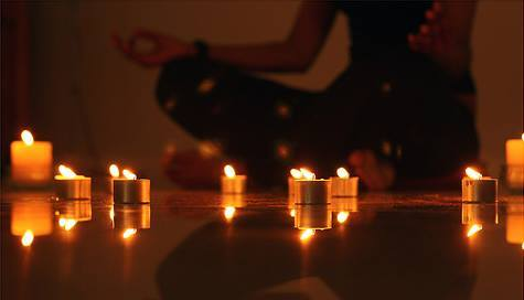 Light In The Darkness: Yoga & Candle Gazing Meditation