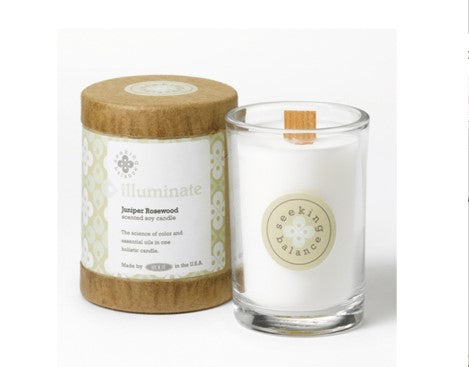 Holistic Candle: Illuminate with Juniper Rosewood