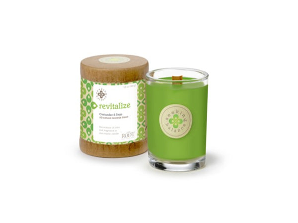 Holistic Candle: Revitalize with Coriander Sage