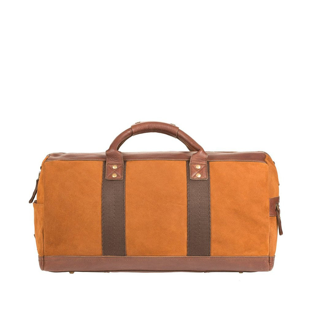 Suede Duffle Bag