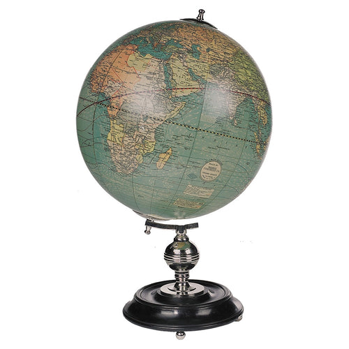 1920s Old World Globe